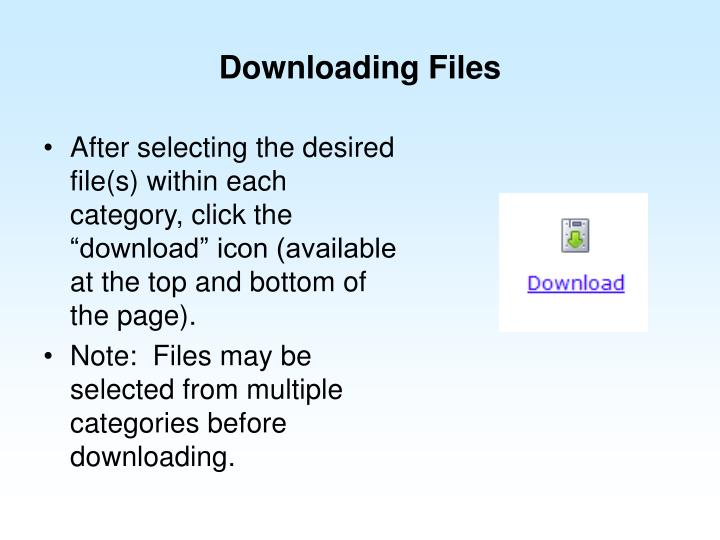 Downloading Files