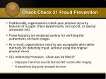 check check 21 fraud prevention