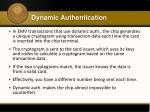dynamic authentication1
