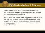 park sterling wallace pittmann