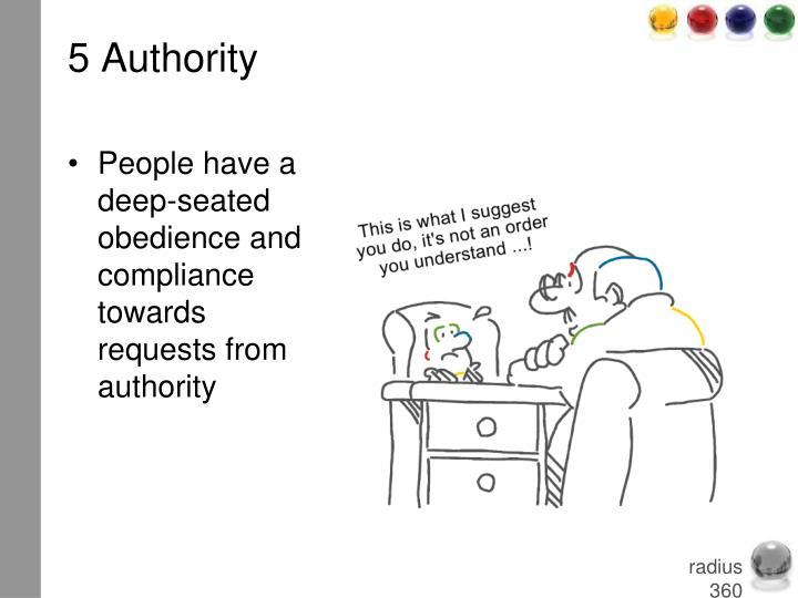 5 Authority