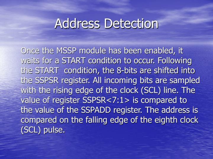Address Detection