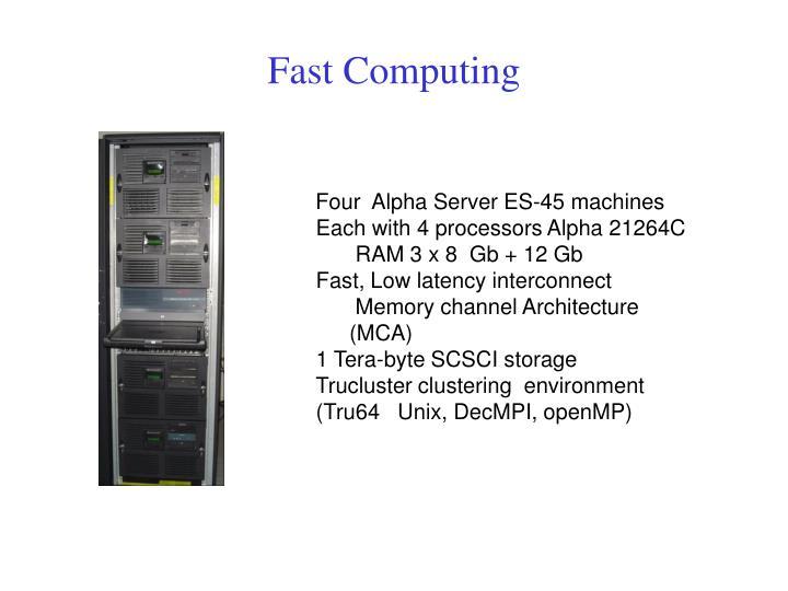 Fast Computing
