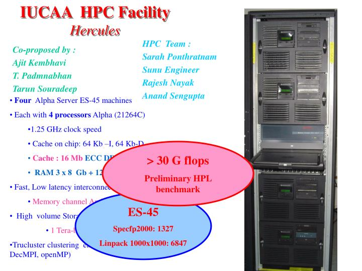IUCAA  HPC Facility