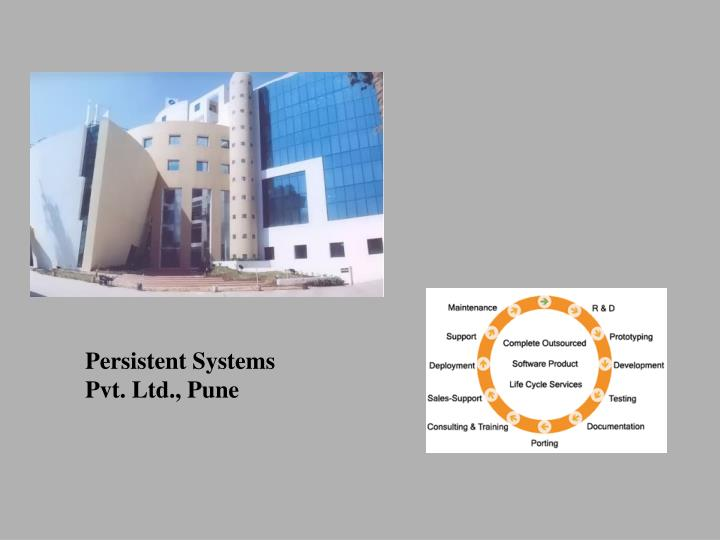 Persistent Systems Pvt. Ltd., Pune