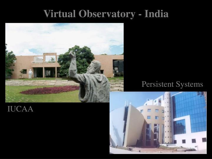 Virtual Observatory - India