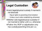 legal custodian