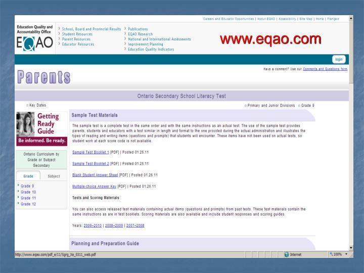 www.eqao.com