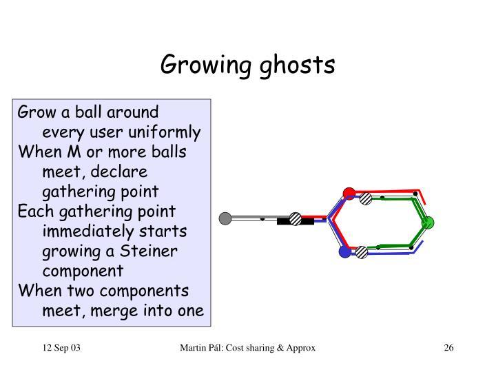 Growing ghosts
