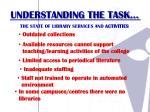 understanding the task1