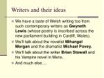 writers and their ideas2