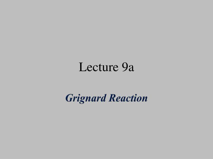 lecture 9a n.