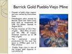 barrick gold pueblo viejo mine