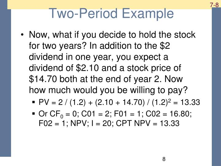 Two-Period Example