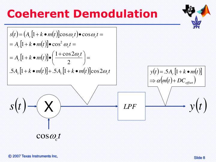 Coeherent Demodulation