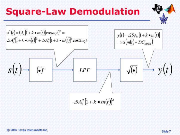 Square-Law Demodulation