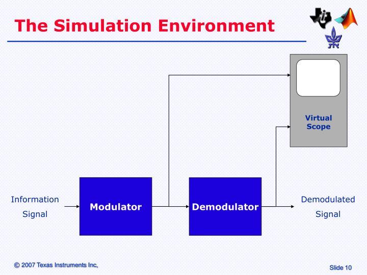 The Simulation Environment
