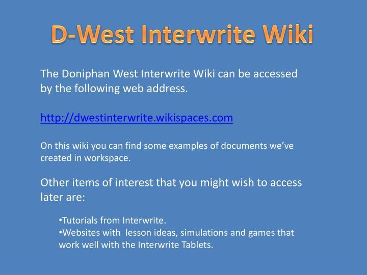 D-West