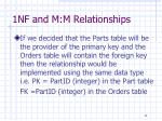 1nf and m m relationships3