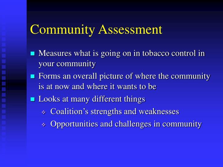 Community assessment1