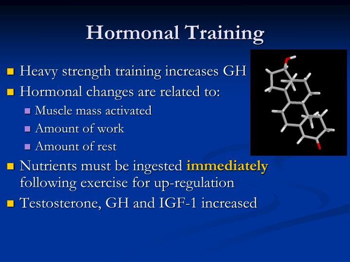 Hormonal Training