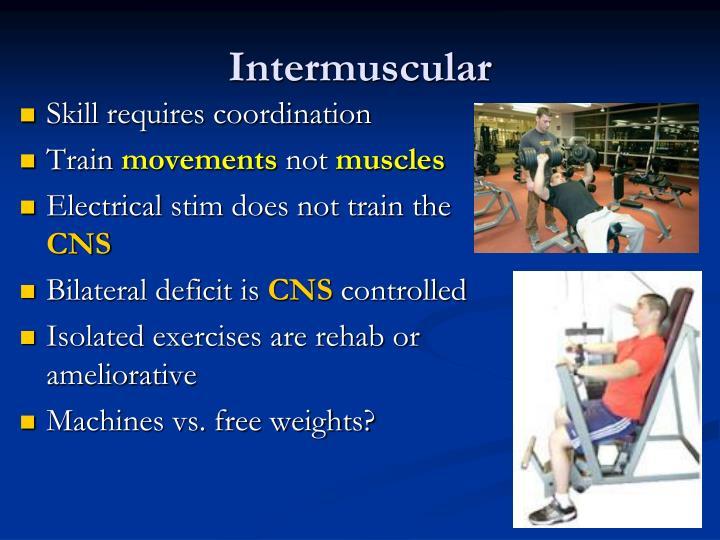 Intermuscular