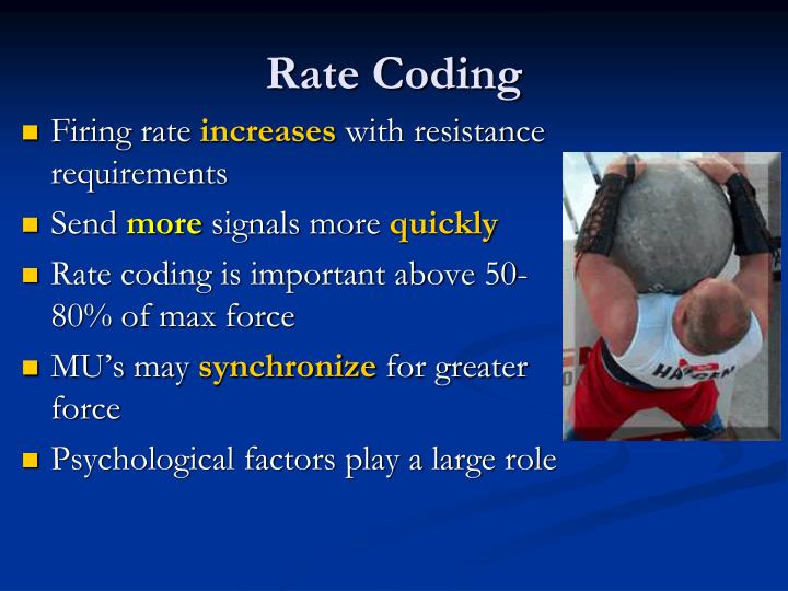 Rate Coding