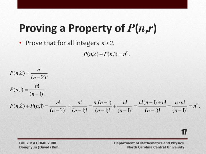 Prove that for all integers