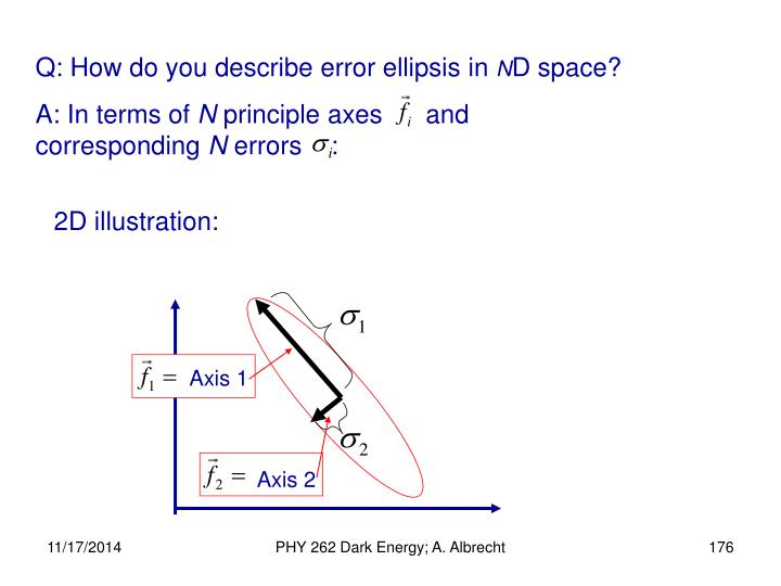 Q: How do you describe error ellipsis in