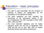 education basic principles