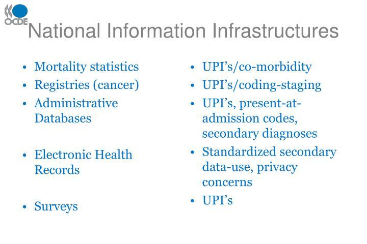 National Information Infrastructures
