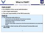 what is fiar