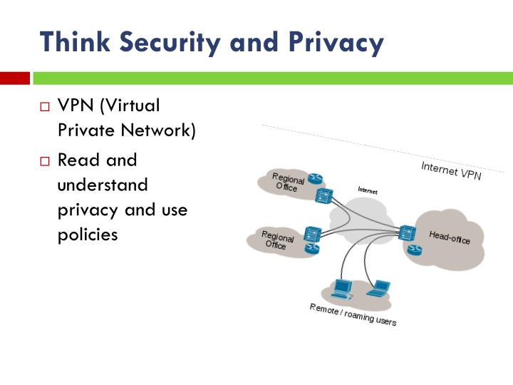 Think Security and Privacy