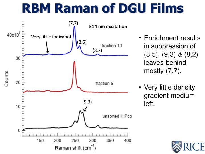 RBM Raman of DGU Films