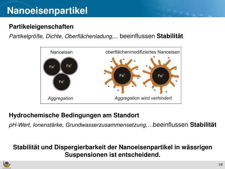 Nanoeisenpartikel