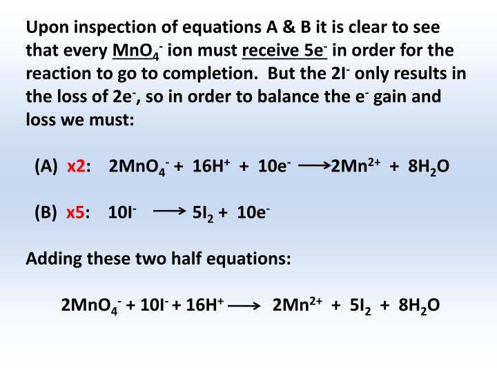 Upon inspection of equations A & B it is clear to see that every