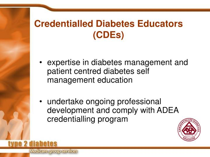 Credentialled Diabetes Educators