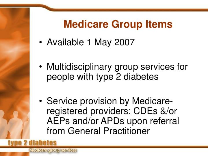 Medicare group items