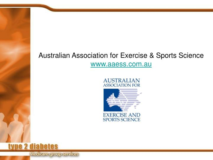 Australian Association for Exercise & Sports Science