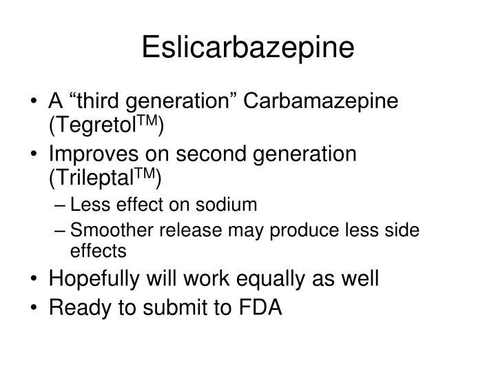 Eslicarbazepine