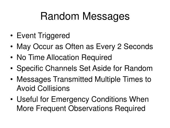 Random Messages