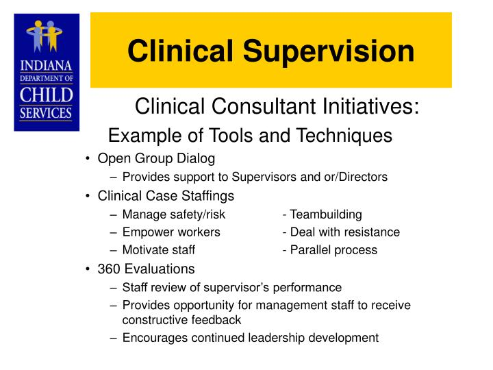 Clinical Supervision