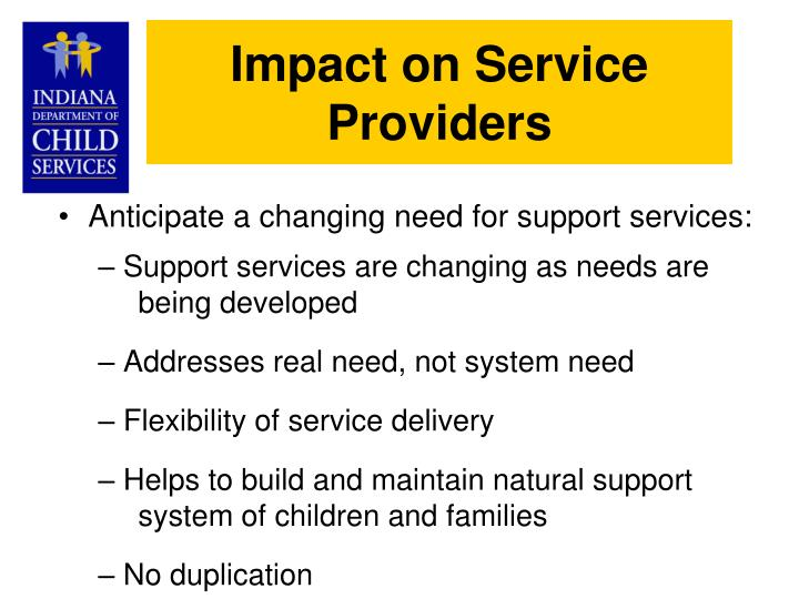 Impact on Service Providers