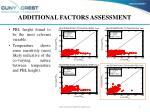 additional factors assessment