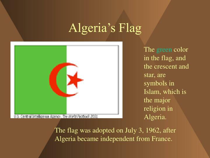 Algeria s flag
