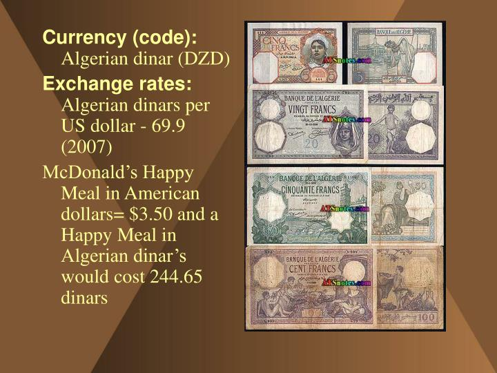 Currency (code):