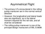 asymmetrical flight1