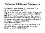 fundamental design parameters