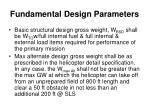 fundamental design parameters2