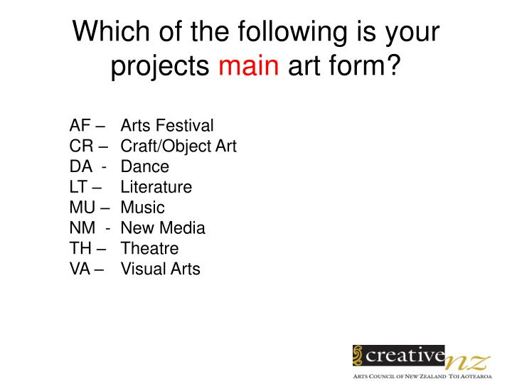 Which of the following is your projects